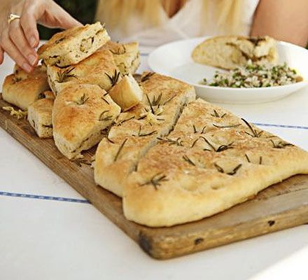 Inject the taste of Italy into your picnics and al fresco dinner parties with this irresistibly moreish focaccia