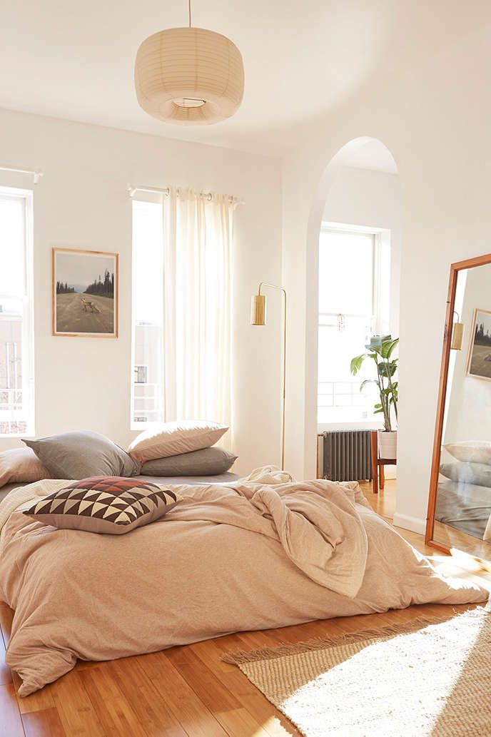 Heathered Jersey Duvet Cover - Urban Outfitters Love love love this comforter! I Want it so badly