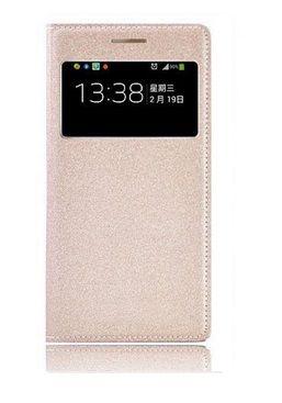 S View Flip Case Cover Θήκη OEM - Χρυσό (Galaxy S4 mini) - myThiki.gr - Θήκες Κινητών-Αξεσουάρ για Smartphones και Tablets - S View Χρυσό- Galaxy S4 mini