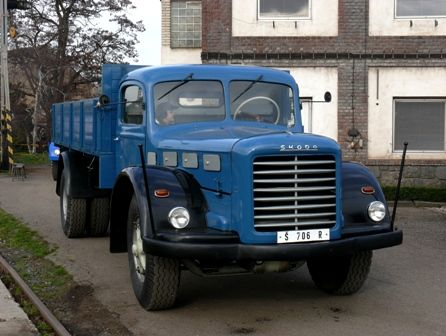 Škoda 706 R | Staré náklaďáky