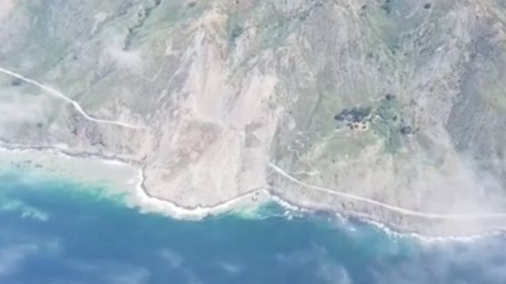 Section of Highway 1 in Big Sur Area Buried Under Massive Landslide, New Video Shows http://ktla.com/2017/05/23/section-of-pch-in-big-sur-buried-under-massive-landslide-new-video-shows/?utm_campaign=crowdfire&utm_content=crowdfire&utm_medium=social&utm_source=pinterest