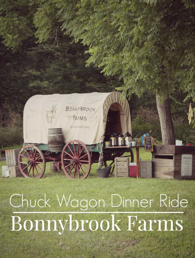 Clinton County  Chuck Wagon Dinner Ride at Bonnybrook Farms in Ohio. A short drive from Cincinnati., this is a fun attraction for the entire family.