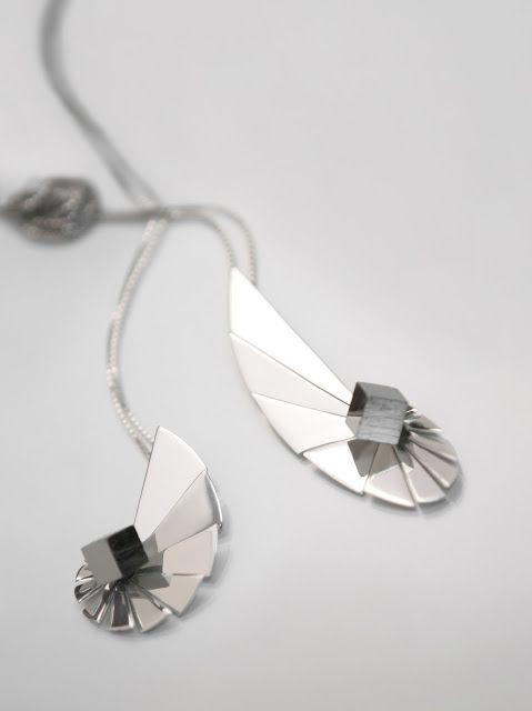 Vanglória | Joalharia de Autor: Nautilus Collection_Necklaces; silver, raw pirite