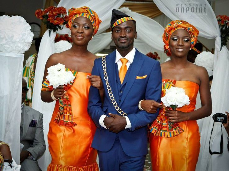 "A Ghanaian wedding....Theme ""coming to America' Makeup by me"