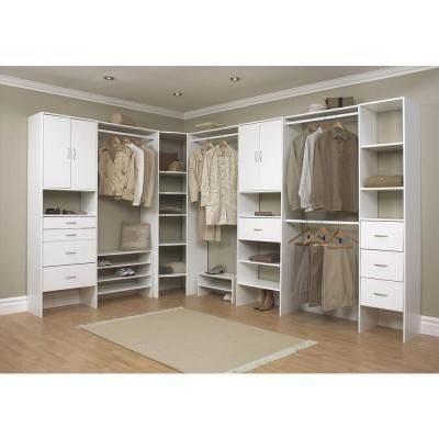 closetmaid selectives 20 in x 41 5 in x 29 in 3 shelf white