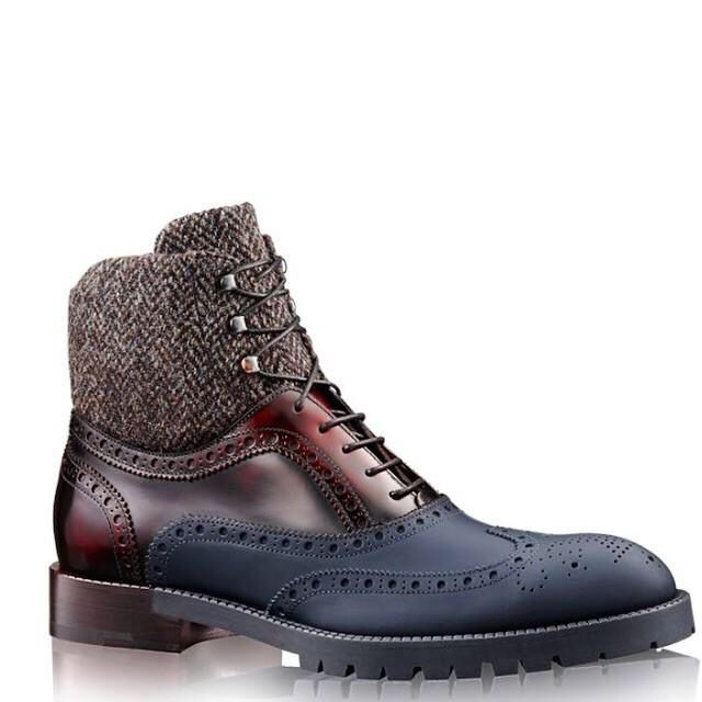 Kinda like these boots but not the bottom part. I like the fabric part at the top though