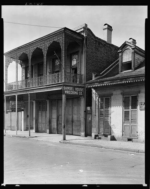 821-825 Toulouse St., New Orleans, Orleans Parish, Louisiana