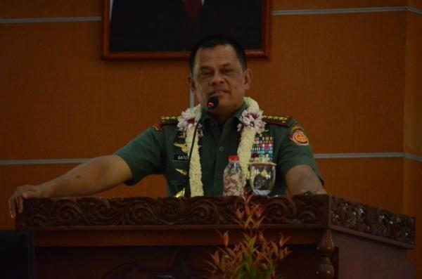 Jenderal Gatot: Bangsa Indonesia Berjiwa Patroit dan Ksatria Harus Bersatu