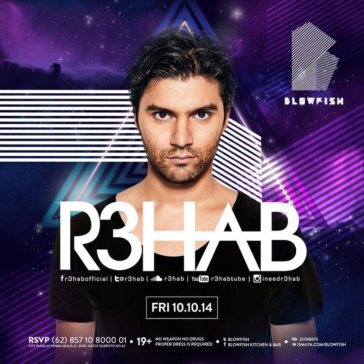 R3HAB 10.10.14 at Blowfish