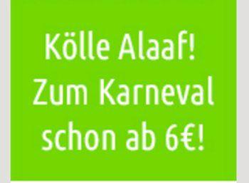 Flixbus: Karnevals-Tickets ab 5 Euro, mit Dr. Oetker ab 2 Euro https://www.discountfan.de/artikel/reisen_und_bildung/flixbus-karnevals-tickets-ab-5-euro-mit-dr-oetker-ab-2-euro.php In die Karneval-Hochburgen Köln, Düsseldorf und Mainz kommt man jetzt mit Flixbus zu Schnäppchenpreisen ab fünf Euro. Die Aktionspreise gelten nur bis Rosenmontag. Flixbus: Karnevals-Tickets ab 5 Euro, mit Dr. Oetker ab 2 Euro (Bild: Flixbus.de) Die Karnevalstickets von Flixbus sind nur für