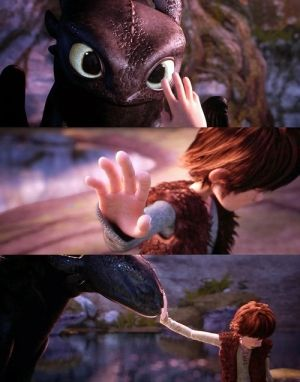 How to Train Your Dragon. I just saw this movie a week ago and I love it! I'm such a sucker for cartoon movies. =D