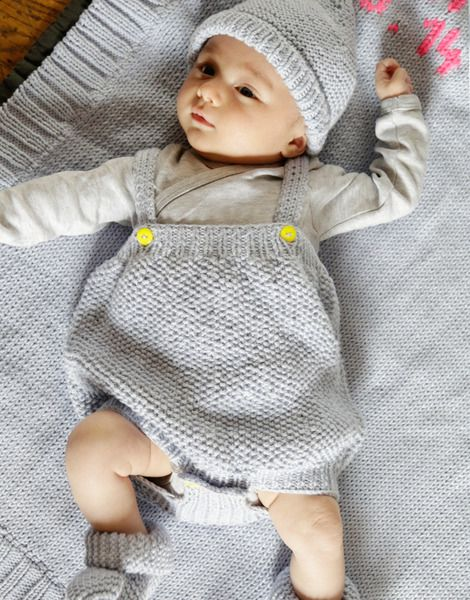 Roundhouse Rompers | Level Intermediate Knit Kit