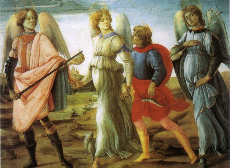 I 3 Arcangeli e Tobiolo (Filippino Lippi)