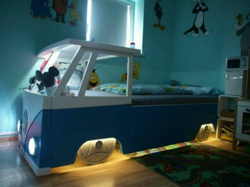 t1 bus kinderbett bulli mdf holz in baden w rttemberg oberstenfeld babywiege gebraucht. Black Bedroom Furniture Sets. Home Design Ideas