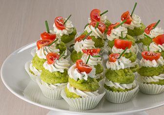Baci tricolore salati