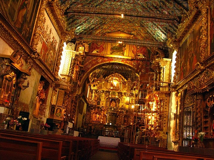 the Sistine Chapel of the Andes, Andahuaylillas ...