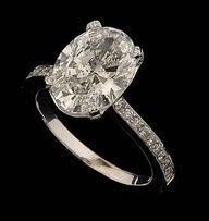 Oval Diamond Ring ~ LUV THIS CUT ~