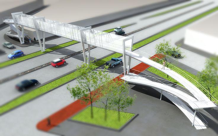 Echauri Morales Arquitectos: Puentes Peatonales.