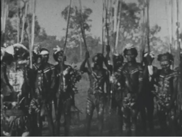 [Click to view film] Worora and Ngarinjin tribes at Kunmunya, 1933. More information on film content can be found on the SLWA Catalogue. http://encore.slwa.wa.gov.au/iii/encore/record/C__Rb1384261