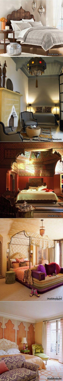 (+1) тема - Спальня в марокканском стиле | Роскошь и | без названия