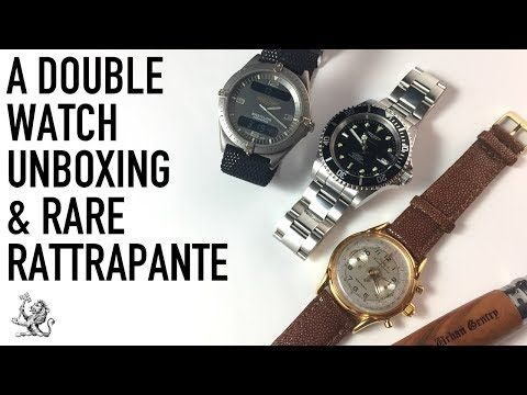 Unboxing An Invicta & Breitling AeroSpace + Dubey & Schaldenbrand Rattrapante Luxury Watch Review