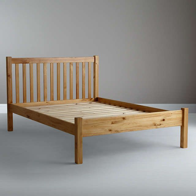 £175 144cm BuyJohn Lewis Wilton Bed Frame, Double, Natural Online at johnlewis.com