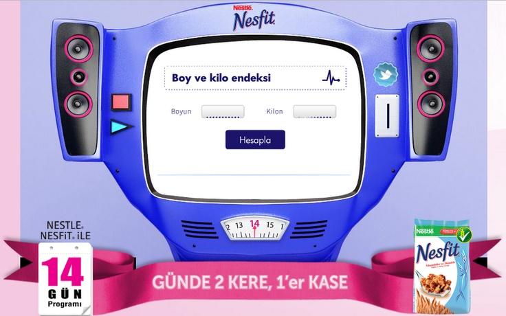 Nesfit / #konusantarti  http://www.nesfit14gun.com/