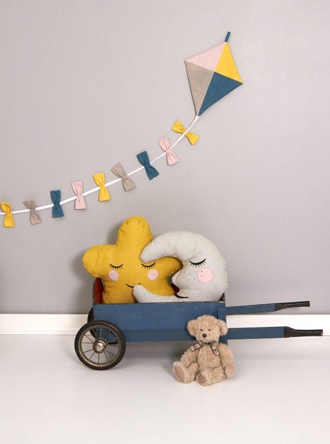 roommate kite flag line | Kinderkamer in stijl