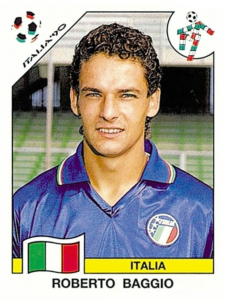 53 Roberto Baggio - Group A - Italia - FIFA World Cup Italia 1990