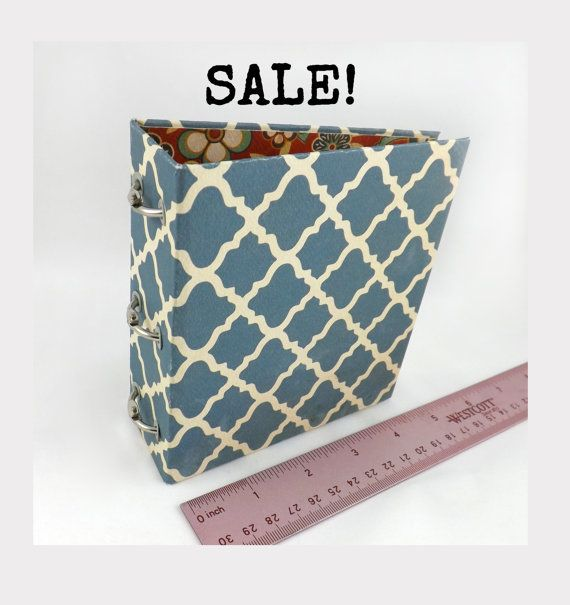 "Mini 3 Ring Binder SALE Tiny Small 1"" One Inch Rings"
