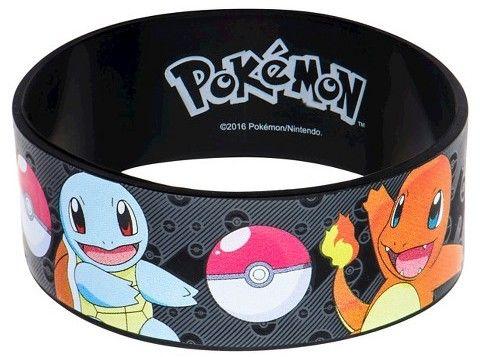Pokemon Youth Pokémon Main Characters Silicone Bracelet
