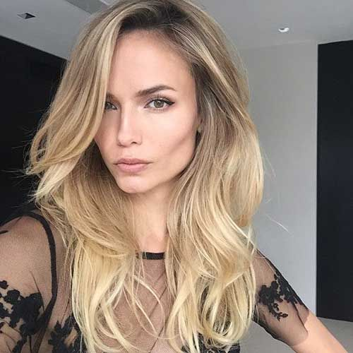 Long Thick Hairstyles Pleasing 56 Best Latest Haircuts For Women Images On Pinterest  Latest