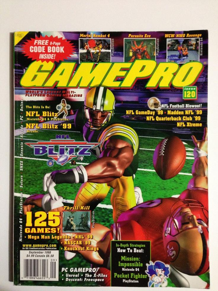Gamepro September 1998 Juegos clásicos, Video juego