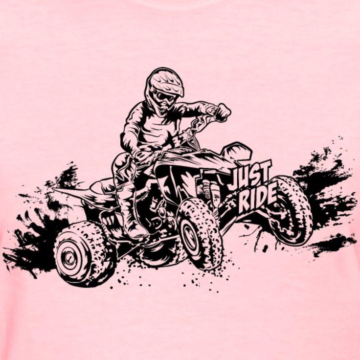 just-ride-off-road-atv-women-s-t-shirts-women-s-t-shirt.jpg (800×800)