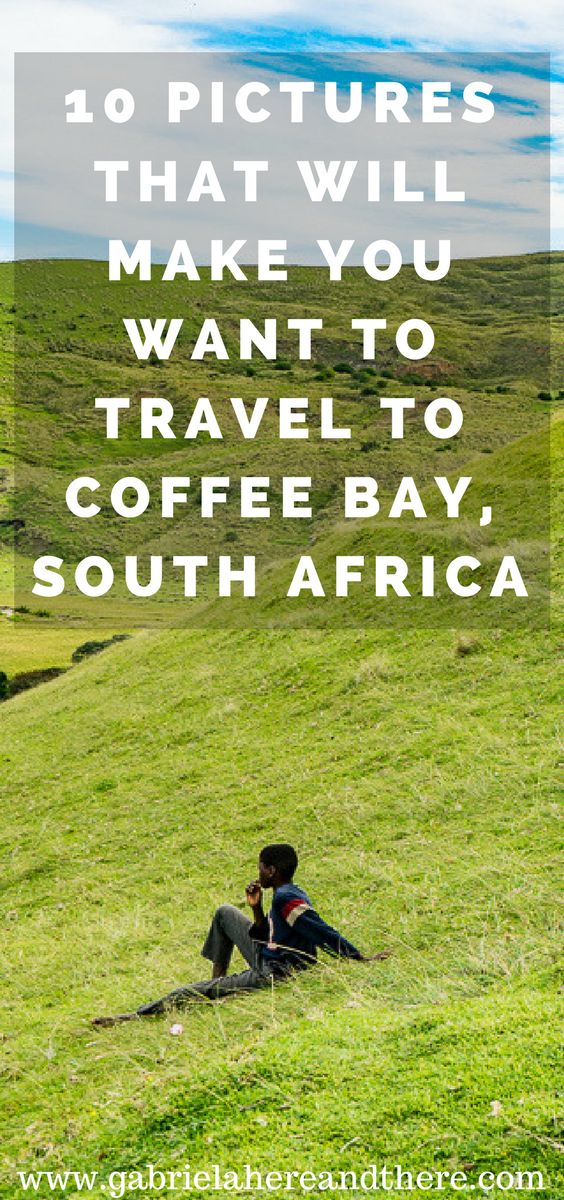 10 Pictures That Will Make You Want to Travel to Coffee Bay, South Africa. A great place for travel photography.