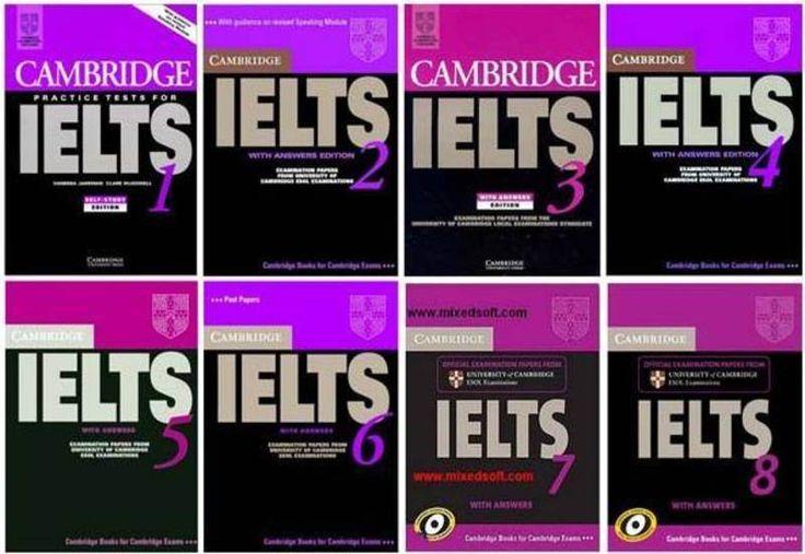 캠브리지 IELTS 책 시리즈 1-9