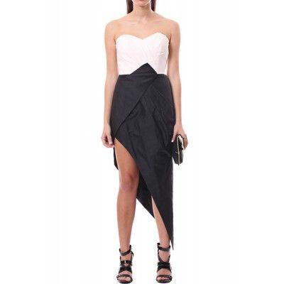 Crash Love Dress - Crash Love Dress - Clothing - Dresses - Asymmetric - Strapless - What's New - Seduce - Brands - Seduce - Seduce