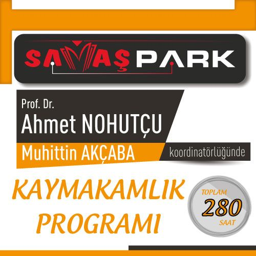 Prof. Dr. Ahmet NOHUTÇU ve Muhittin AKÇABA Koordinatörlüğünde Kaymakamlık Programları
