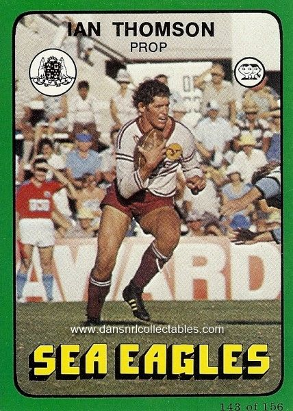 1978 143 Manly Sea Eagles