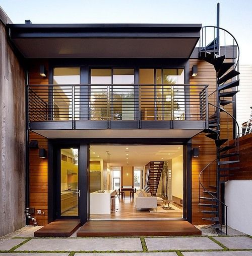 justthedesign: The Hill Street Residence by John Maniscalco Architecture