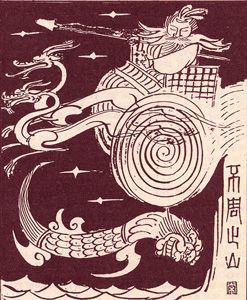 Gong Gong- responsible for disastrous floods