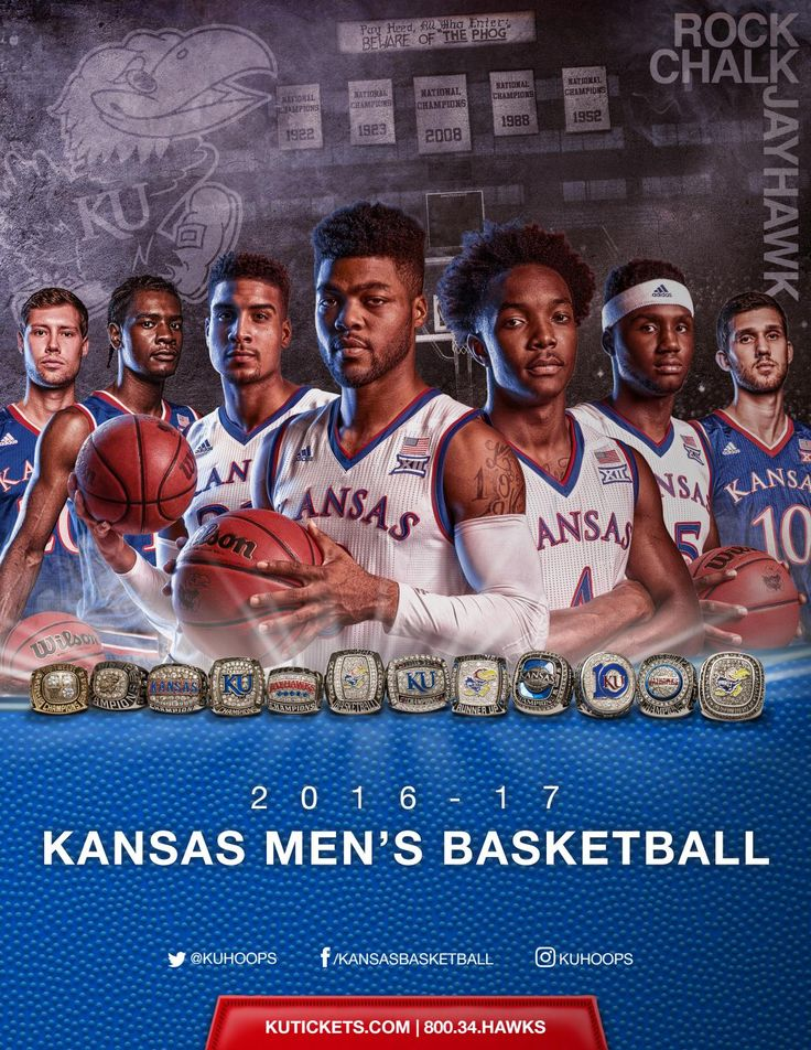 2016-17 Kansas Jayhawks Basketball Media Guide // NCAA // Big 12 Conference // KU