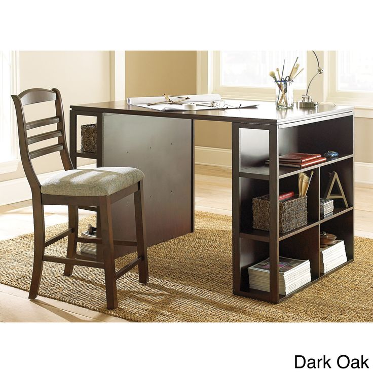 best 25 counter height desk ideas on pinterest tall desk desk dimensions and tall kitchen table. Black Bedroom Furniture Sets. Home Design Ideas
