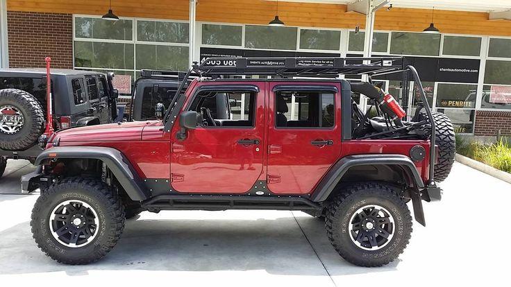 Uneek 4x4 Jk Unlimited Roof Rack Jeep Wrangler Jeep