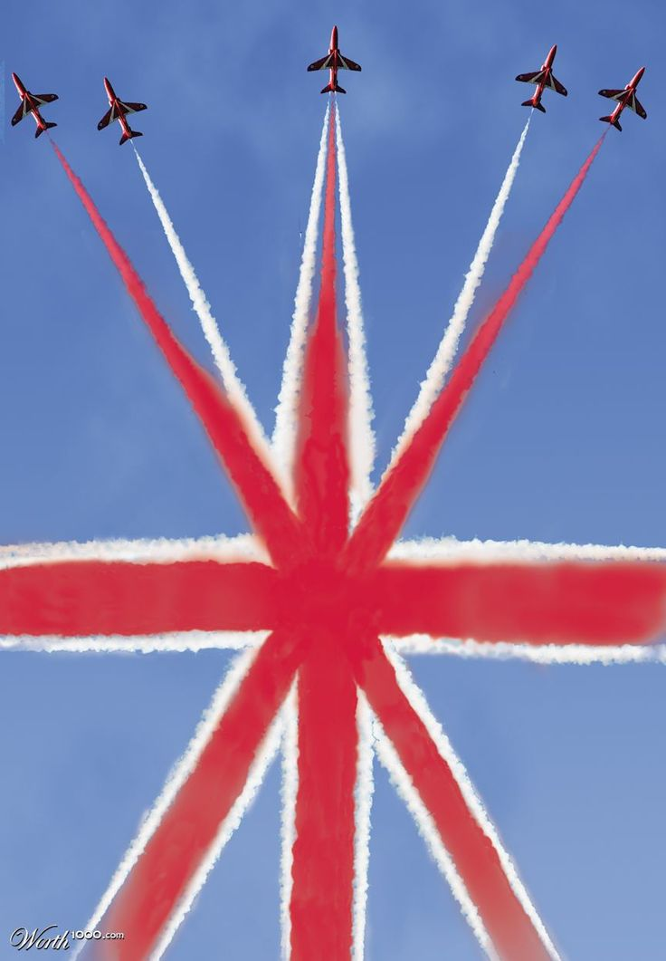 ~ British Red Arrows ~ based in Lincolnshire ~ England ~