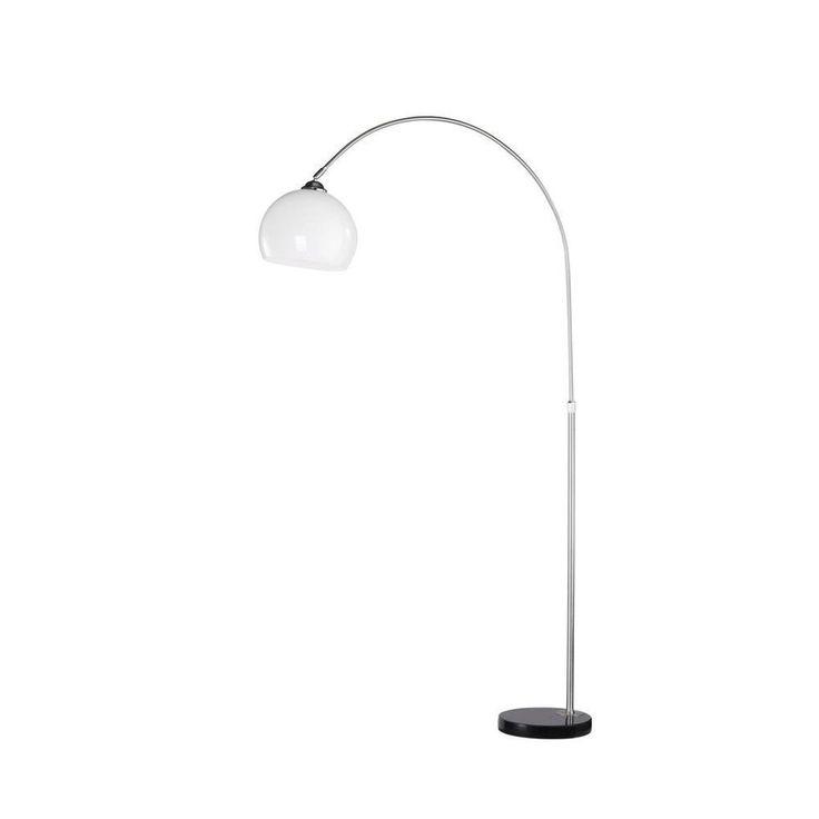 Leuchten Direkt Stehleuchte Pia 18332-55 stahl 1xE27/60W Bogenleuchte Lampe NEU in Möbel & Wohnen, Beleuchtung, Lampen   eBay!