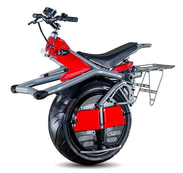 Ryno, uma scooter elétrica com uma única roda!