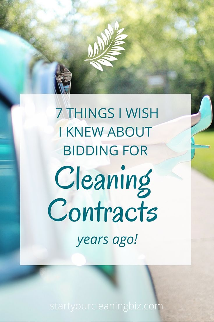 25 Best Ideas About Cleaning Contracts On Pinterest