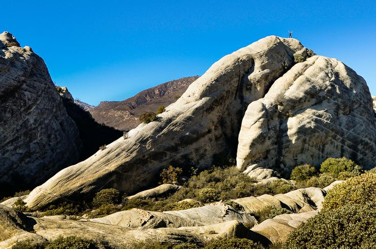"""""""On Top of the World!"""" I'm standing on Piedra Blanca in Los Padres National Forest, California"""