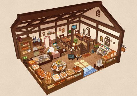 Quarter-view Rooms!! - pixiv Spotlight